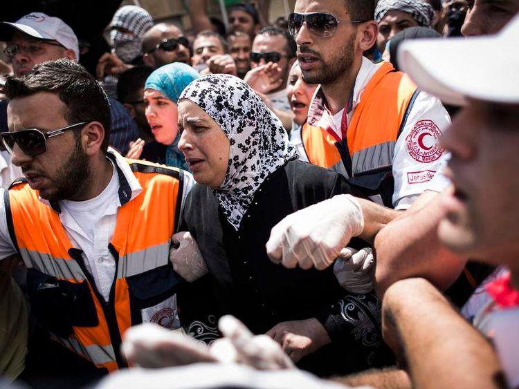 Funeral Held For Slain Palestinian Teenager