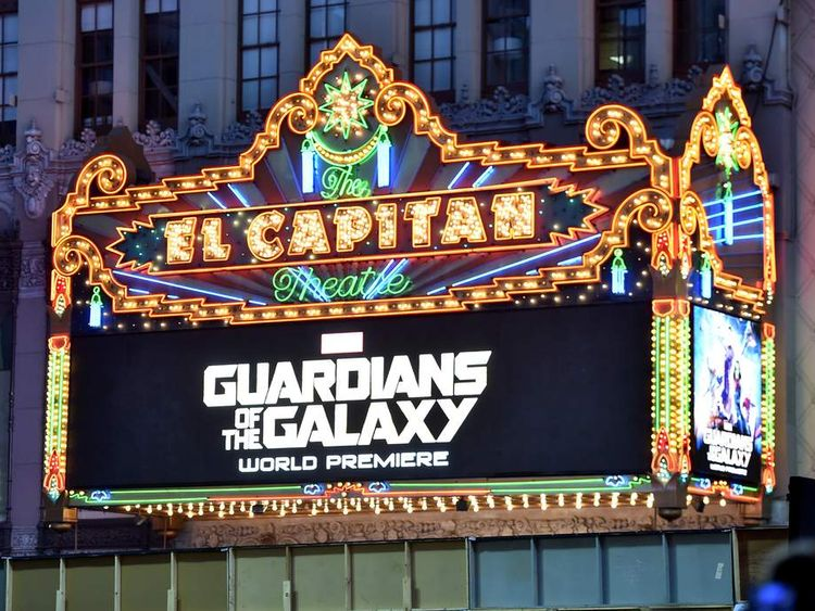 "The World Premiere Of Marvel's Epic Space Adventure ""Guardians Of The Galaxy"" - Red Carpet"