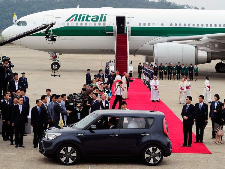 Pope Francis Visits South Korea