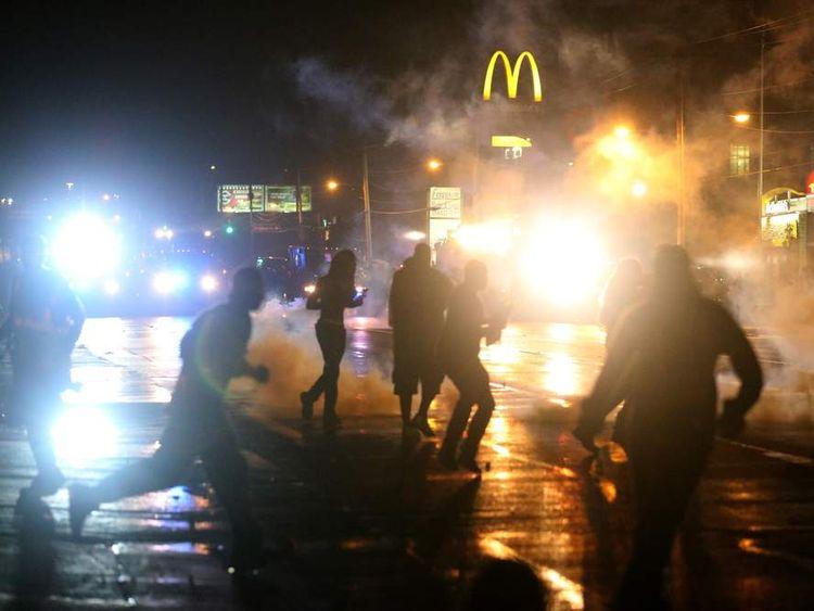 Missouri curfew protest