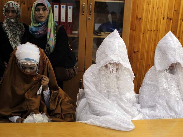 Three brides in Gaza