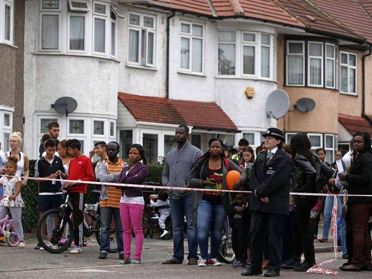 BRITAIN-CRIME-POLICE-WOMAN