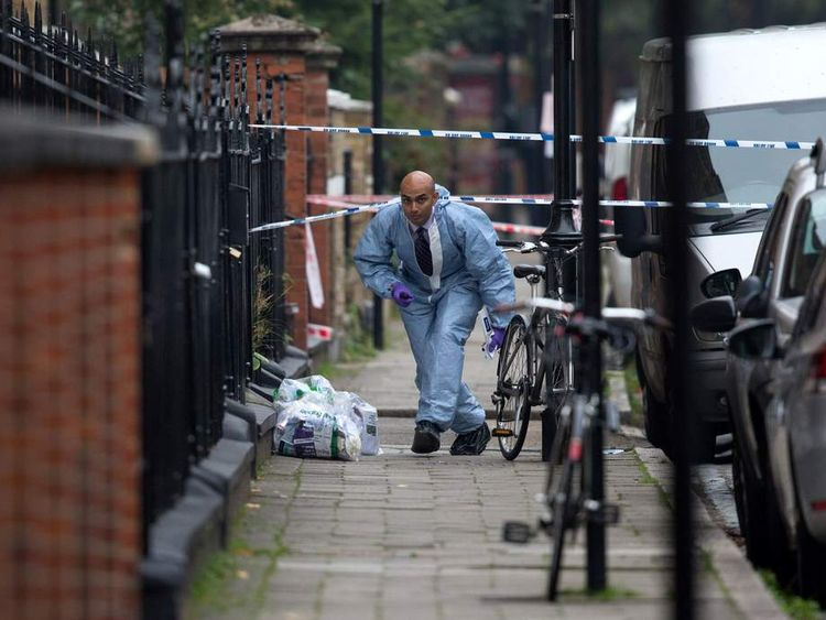 Man Shot Dead By Police In North London