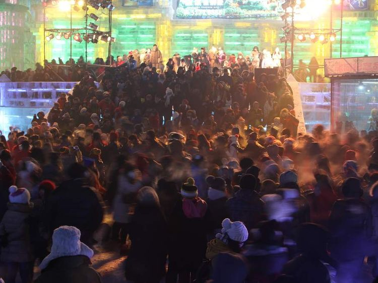 The 30th Harbin International Ice & Snow Sculpture Festival - Opening Ceremony
