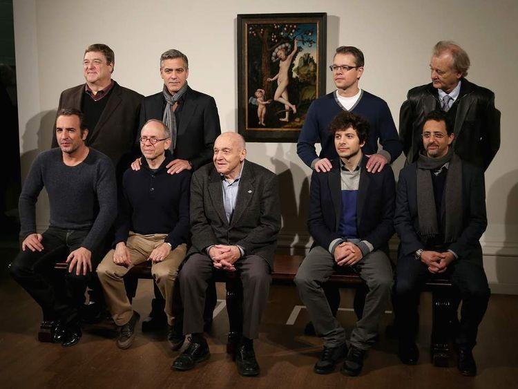 The Monuments Men cast