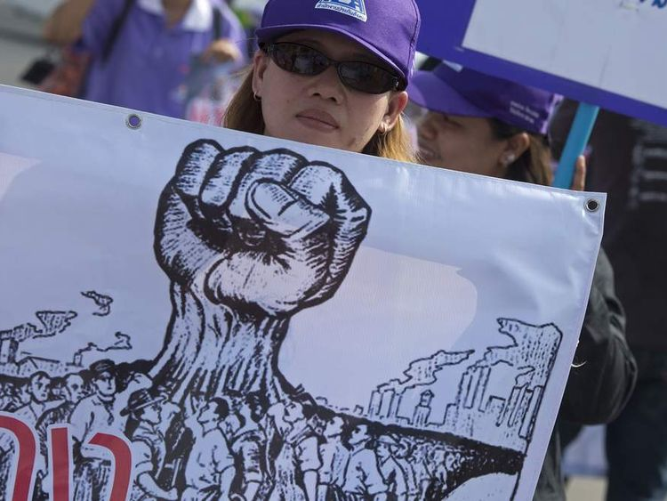 THAILAND-LABOUR-MAY DAY