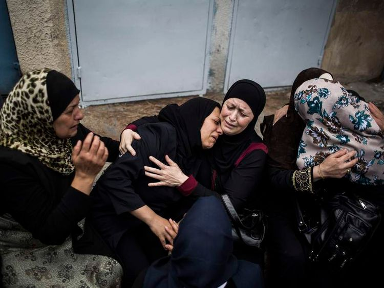 Funerals Are Held For Two Palestinians Killed During Nakba Day Clashes