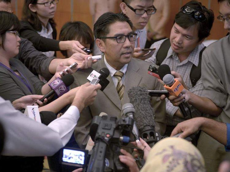 MALAYSIA-CHINA-AUSTRALIA-AVIATION-ACCIDENT