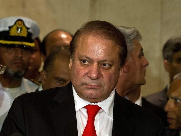 INDIA-PAKISTAN-POLITICS-SHARIF