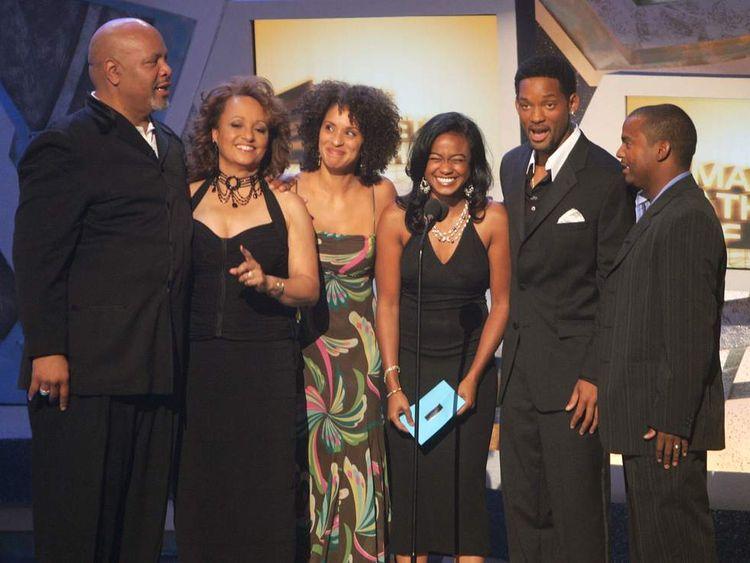 Cast members of the Fresh Prince of Bel-Air