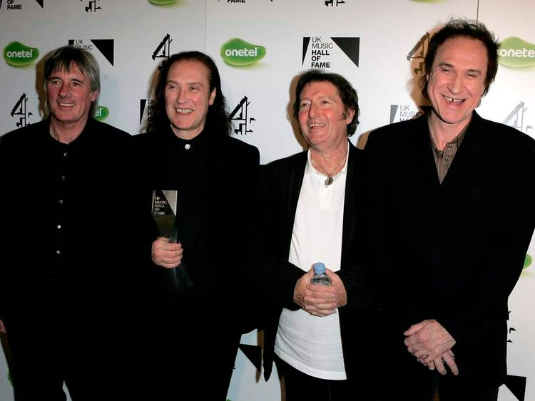 UK Music Hall of Fame 2005 - Backstage