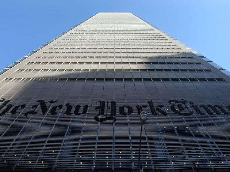 The New York Times Offices