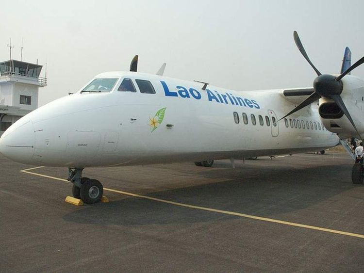 A Lao Airlines plane