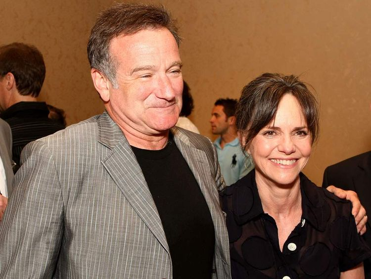 Robin Williams and Mrs Doubtfire co-star Sally Field