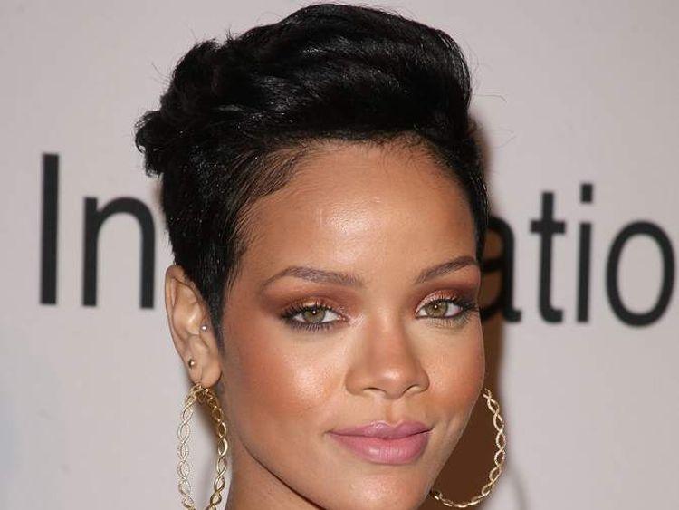 Rihanna in February 2009