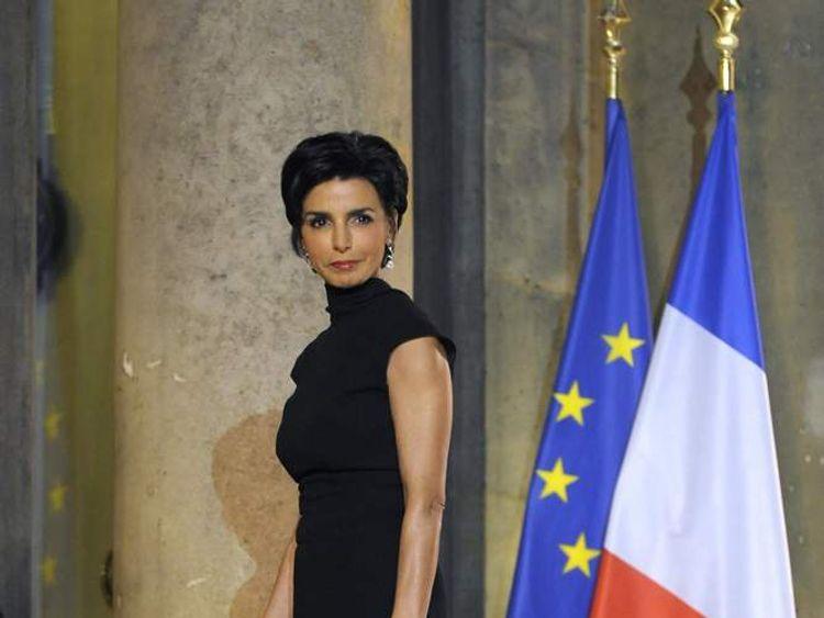 Ex-French Justice Minister Rachida Dati in 2009
