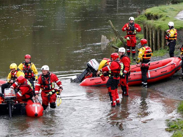 Search and rescue teams