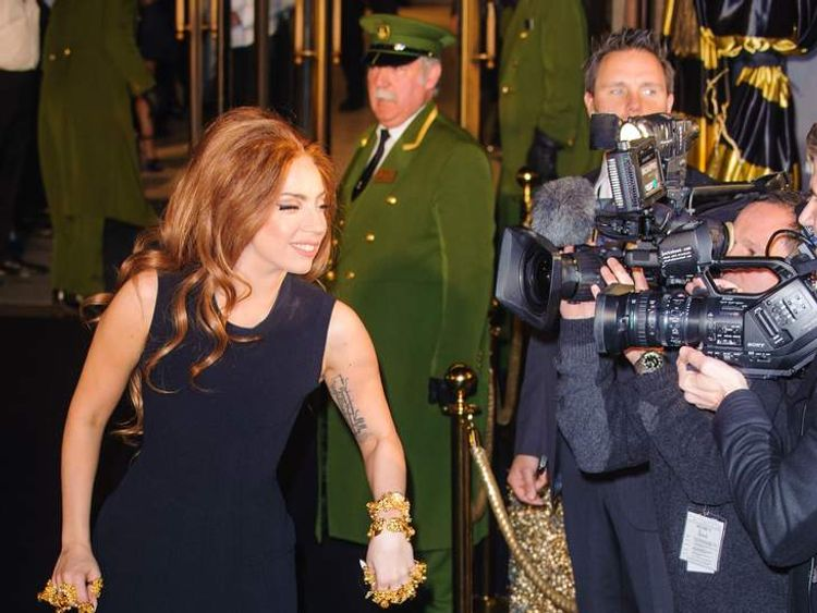 Lady Gaga Booed at Harrods