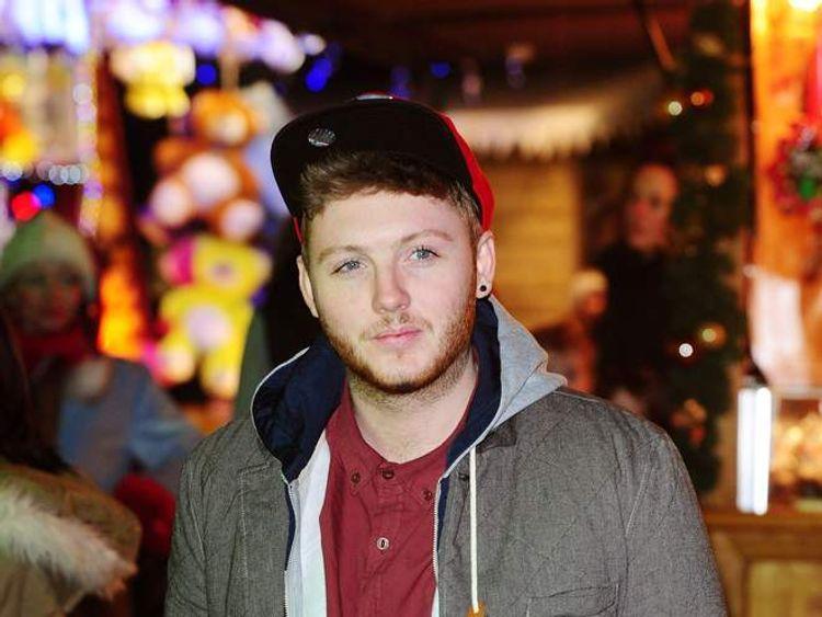 X Factor contestant James Arthur