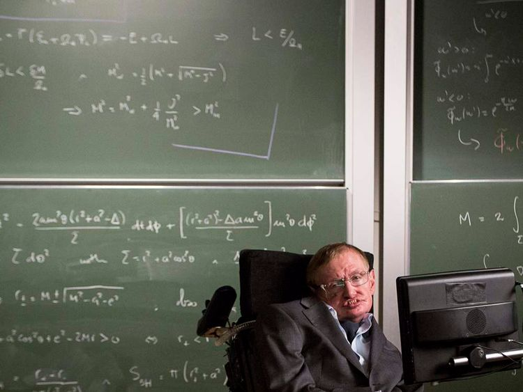 Stephen Hawking in Gocompare.com ad