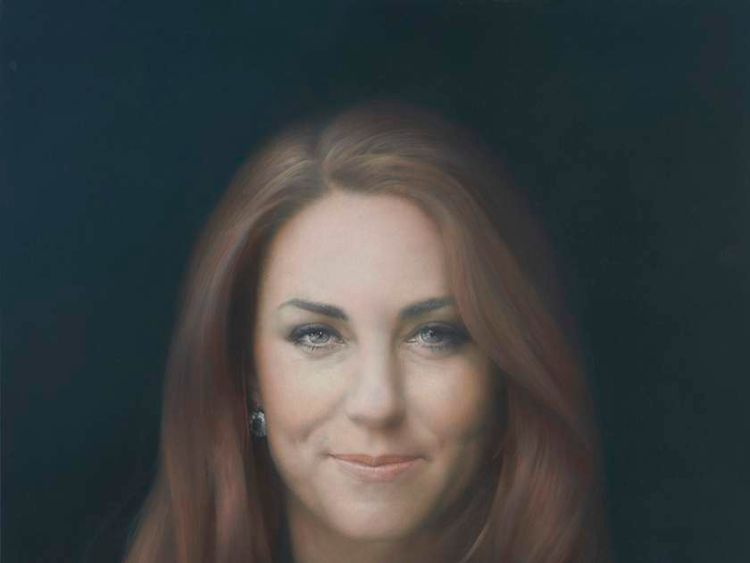Duchess of Cambridge portrait unveiled