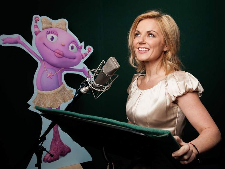 Geri Halliwell In New Disney Animation Henry Hugglemonster