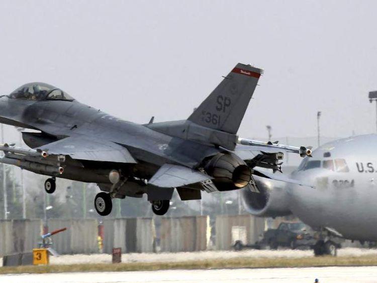 US F-16 Fighter Jet