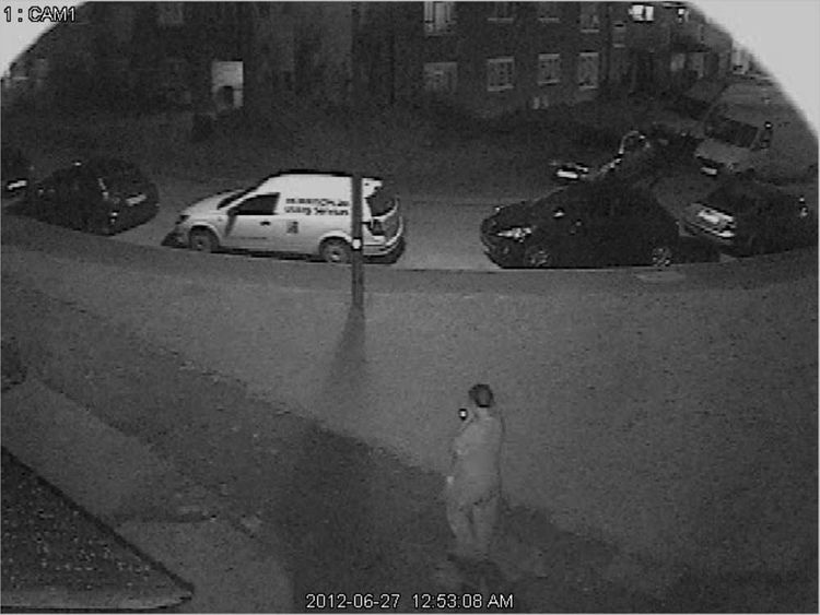 CCTV image of the last sighting of Eystna Blunnie before her death