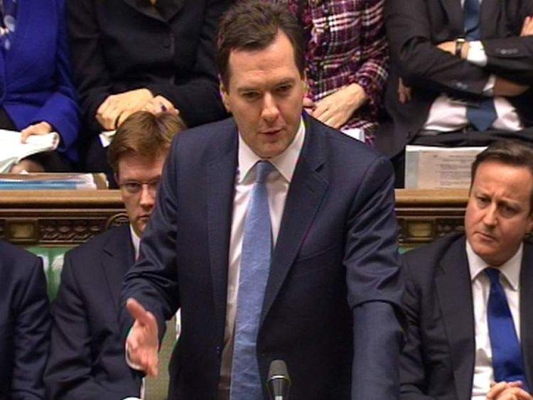 George Osborne in the Commons