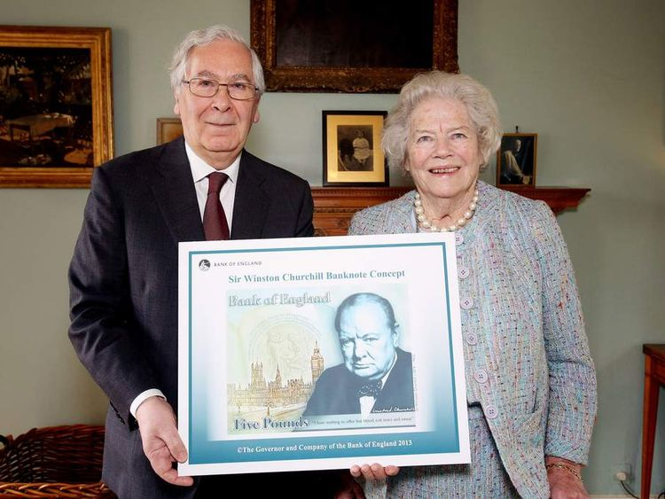 Churchill to feature on £5 note