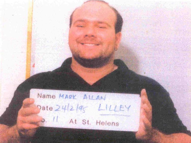 Mark Lilley was found hiding in a panic room by officers who came to arrest him.