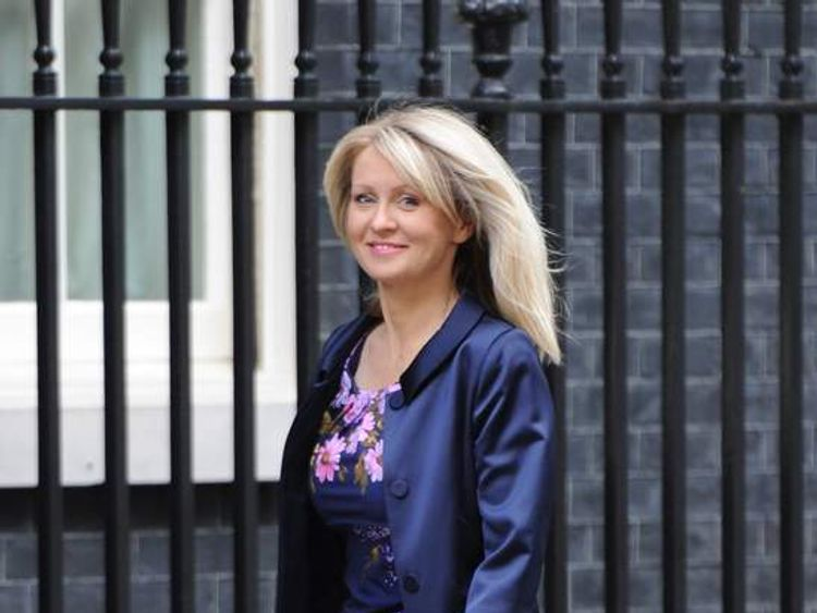 Cabinet reshuffle Esther McVey