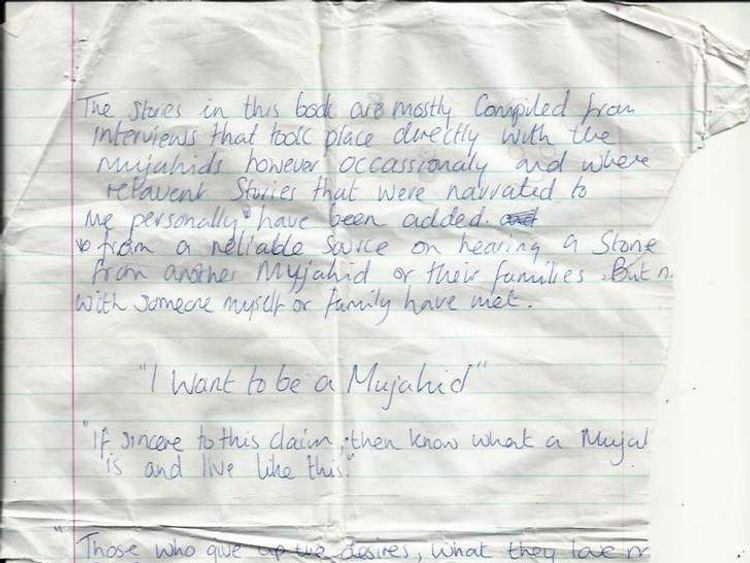 Samantha Lewthwaite's journal