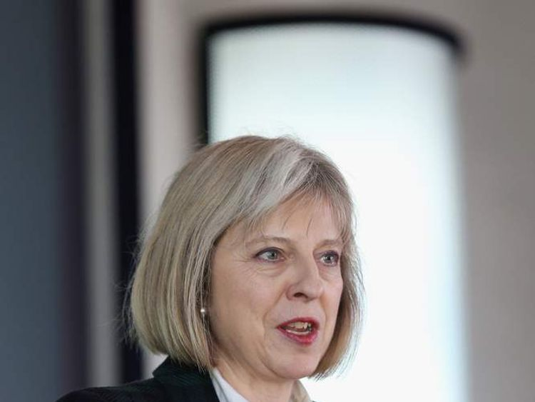 College of Policing Conference Theresa May