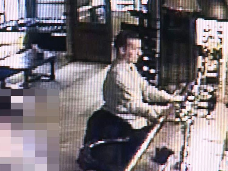 James Attfield showed on CCTV before his death
