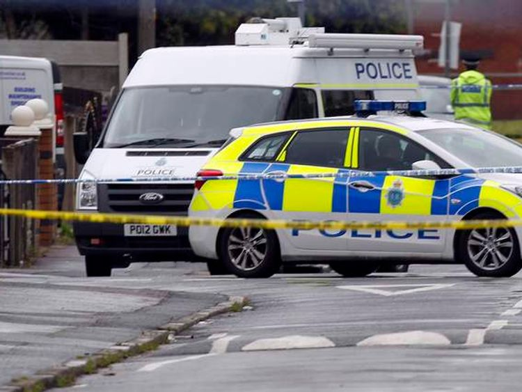 Police shooting in Liverpool