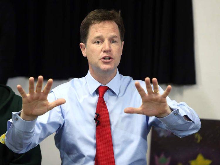 Clegg: I want to finish the job