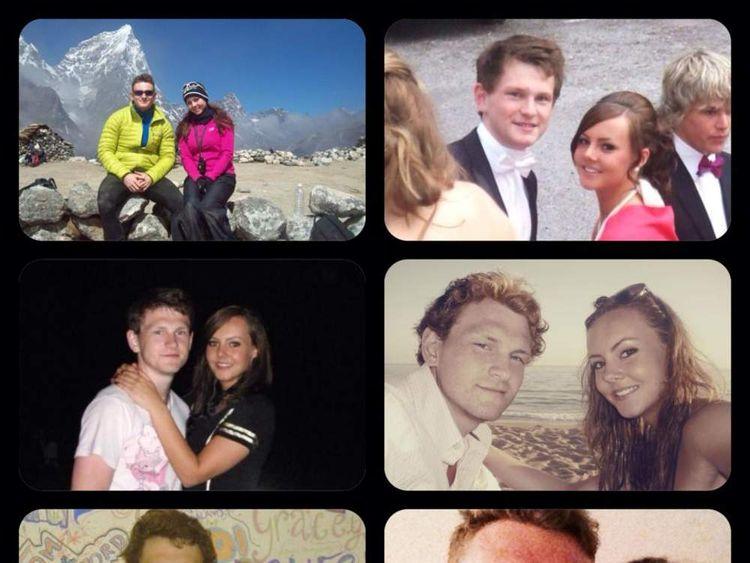Abby Clark's tribute to her boyfriend, Richard Mayne, MH17 victim