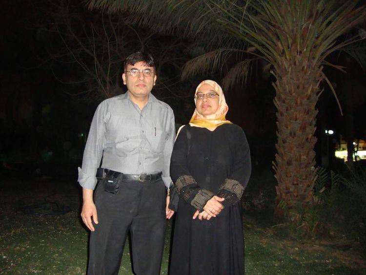 Sabah Usmani and husband