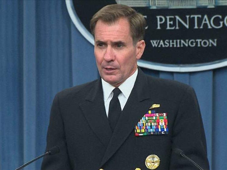 Pentagon spokesman Admiral John Kirby
