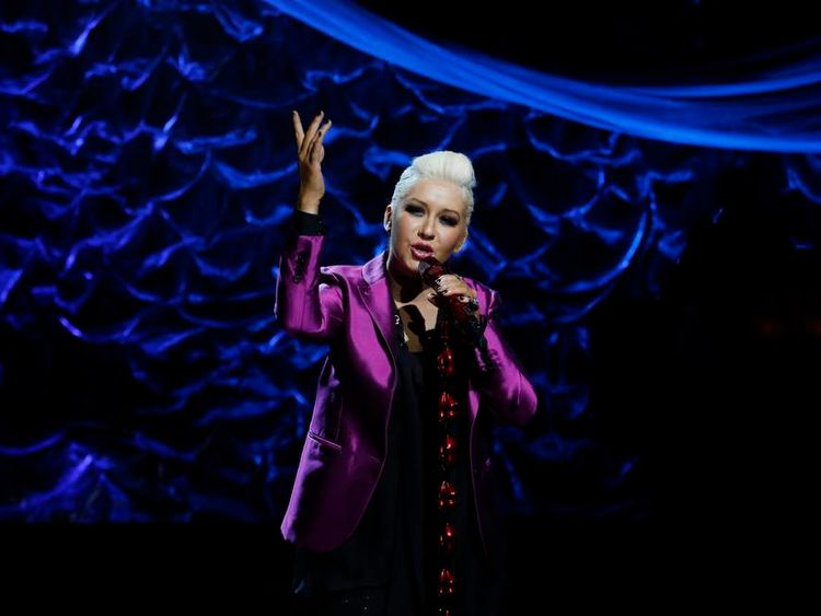 Christina Aguilera joins Sandy charity concert