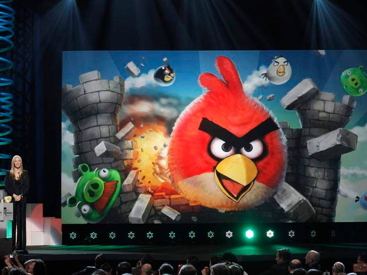 Angry Birds graphic