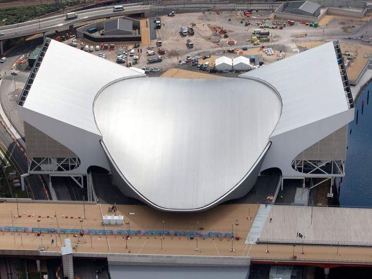 Aquatics Centre at the London 2012 Olympic Park