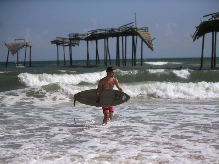 Tropical Storm Arthur Threatens North Carolina's Outer Banks