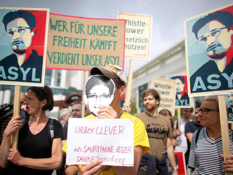 Snowden asylum