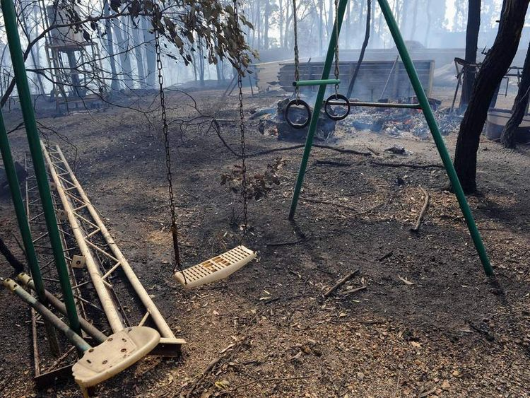 AUSTRALIA Wildfires 4