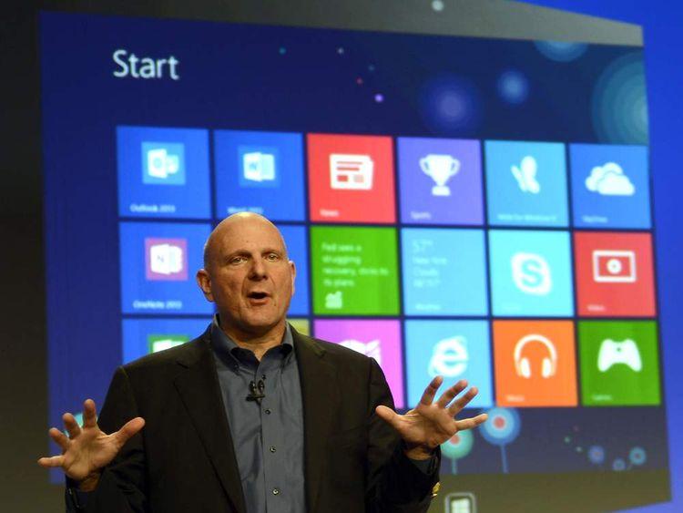 Microsoft boss Steve Ballmer