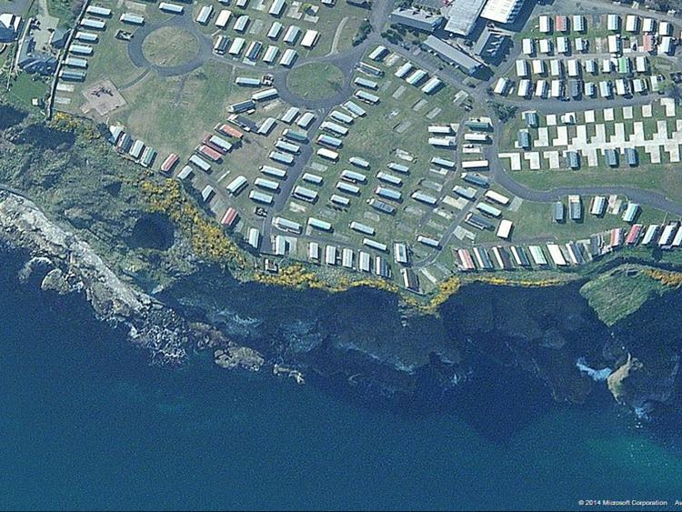 Ballycastle Silver Cliffs caravan park