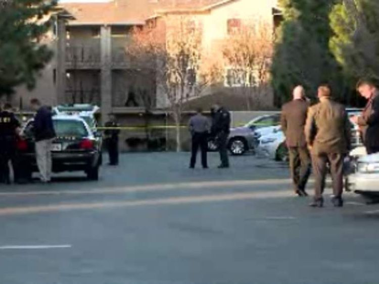 San Francisco transit officer shot dead by fellow officer. Pic: KPIX-TV