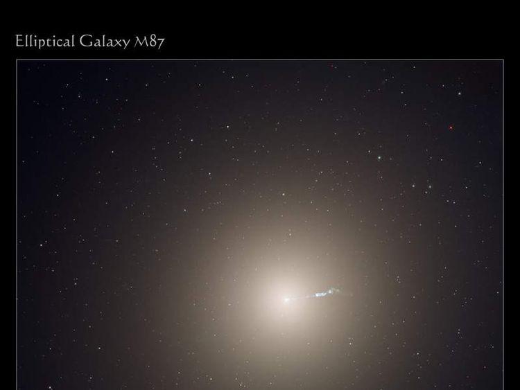 The monstrous elliptical galaxy M87